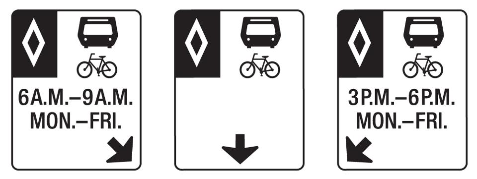 Bus Priority Lanes Signs - image